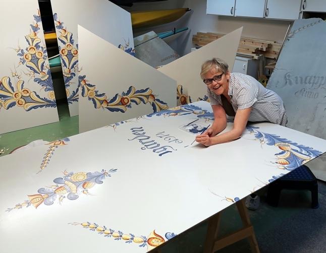 Åse Larsjos Dekorationsmåleri