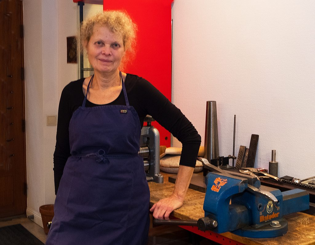 Silversmed Josefine Davidsson
