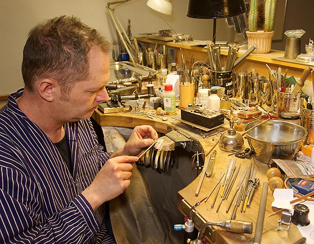 Gideon Teichmann Guld och silversmedsmästare